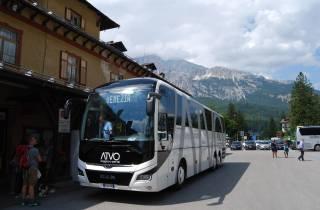 Express Bus Service: Venedig nach Cortina