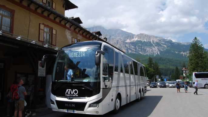 Express Bus Service: Venice to Cortina
