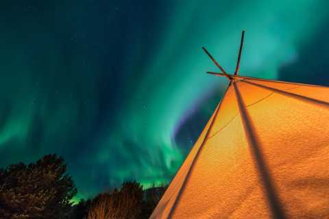 From Tromsø: Northern Lights Experience with Aurora Camps