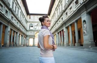Von Rom: Führung durch die Uffizien und Florenz