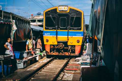 Mahachai & Maeklong Railway Market Day Tour From Bangkok