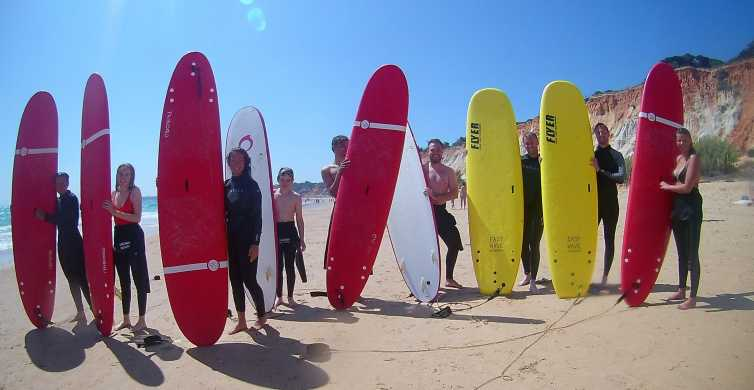 Albufeira: 2-Hour Falesia Beach Surf Lesson
