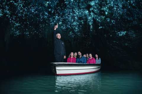 From Auckland: Waitomo Caves & Optional Hobbiton Day Trip