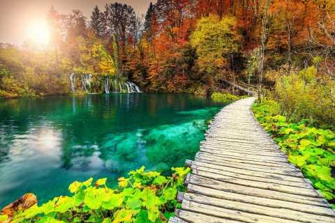 Parc national des lacs de Plitvice: voyage en petit groupe depuis Omiš