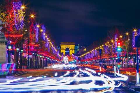 Christmas in Paris: The Champs Elysées & the Arc de Triomphe