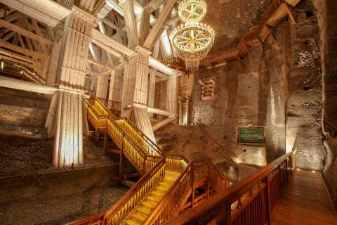 From Kraków: Wieliczka Salt Mine Guided Tour