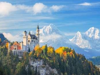 Ab München: Neuschwanstein & Linderhof - Tour auf Spanisch