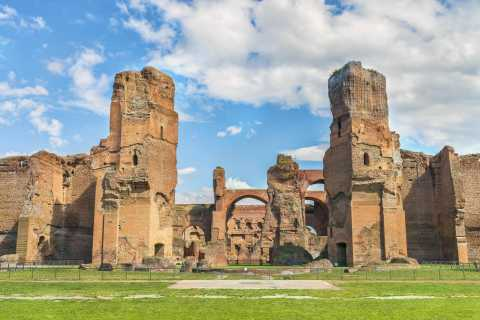 Rome: Caracalla, Colosseum, Circus Maximus Private Tour