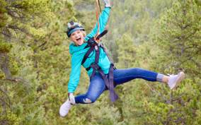 The Rocky Mountains: 6-Zipline Adventure Tour