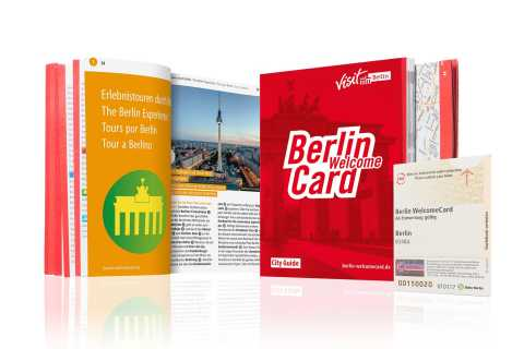 Berlin WelcomeCard: Rabatte & ÖPNV Berlin (Zonen ABC)