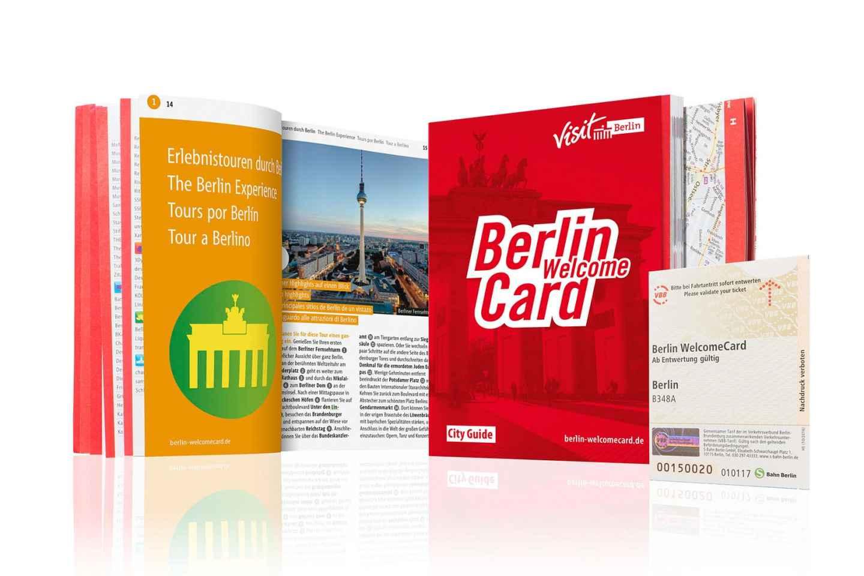 Berlin WelcomeCard: Rabatte & ÖPNV Berlin (Zonen ABC)