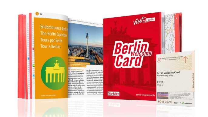 Berlin WelcomeCard: Discounts & Transport Berlin Zones (ABC)