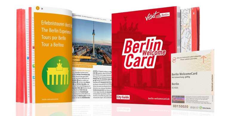 Berlin WelcomeCard: vrij reizen in zones ABC + kortingen