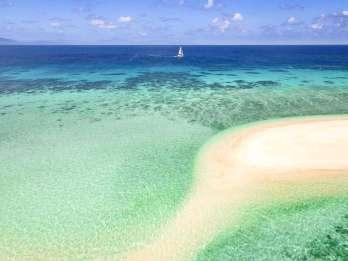 Von Port Douglas: Outer Reef Cruise mit Luxus-Katamaran