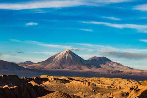 Valle de la Luna (Moon Valley) from San Pedro de Atacama