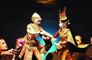 Joe Louis Thai Puppet Theatre: Eintrittskarte