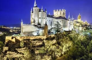 Ab Madrid: Tour nach Segovia mit geführtem Rundgang