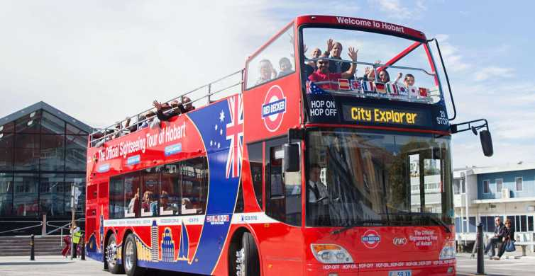Hobart: 24-Hour Hop-on Hop-off Sightseeing Bus Ticket