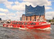 Amburgo: crociera hop-on hop-off di 1 giorno con commento dal vivo