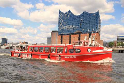 Hamburg: 1-Day Hop-on Hop-off Cruise with Live Commentary