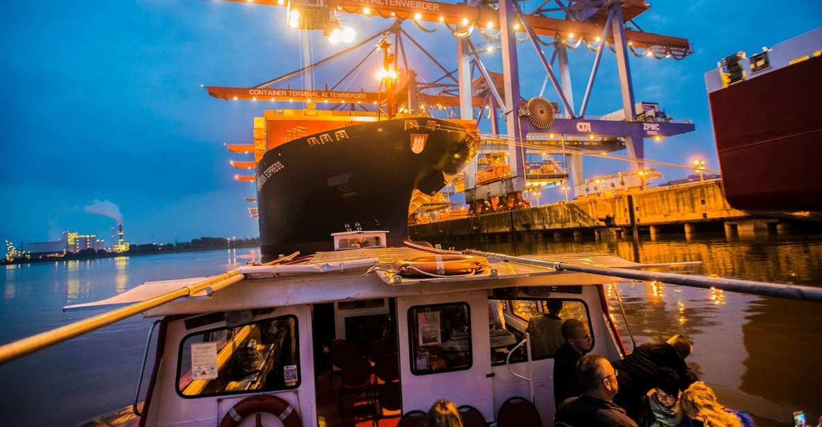 Hamburg Harbor: Light Tour