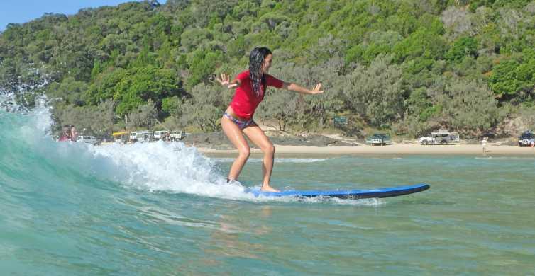 Learn to Surf Australia's Longest Wave & Beach Drive Tour