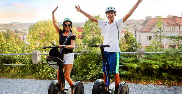 Prague: 1-Hour Segway Experience and Brewery Tour