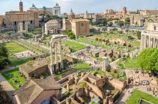 Rom: Kolosseum & Antike Ruinen - Privattour ohne Anstehen