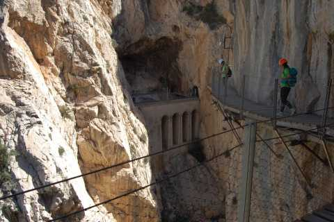 From Costa del Sol & Malaga: Caminito del Rey Guided Tour