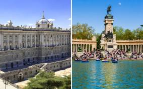 Royal Palace of Madrid Skip-the-Line and Retiro Park Tour