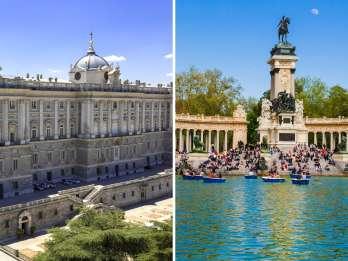 Madrid-Tour: Königlicher Palast ohne Anstehen & Retiro-Park