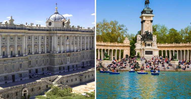 Tour sin colas Palacio Real de Madrid y parque del Retiro