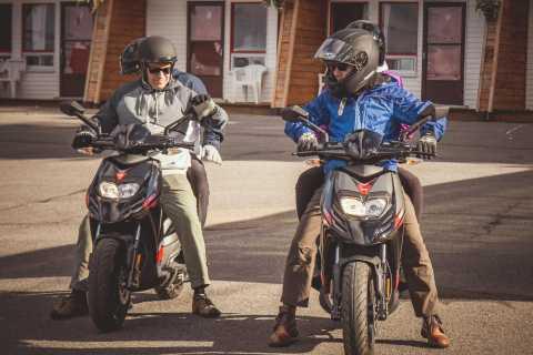 Isla de Orleans: servicio de alquiler de scooters