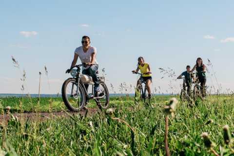 Ile d'Orleans: Alquiler de bicicletas eléctricas