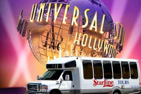 Round Trip Transportation to Universal Studios Hollywood