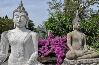 Ab Bangkok: Ayutthaya Tempel & Bauernhof Privattour