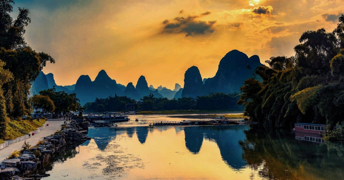 Babes in Guilin