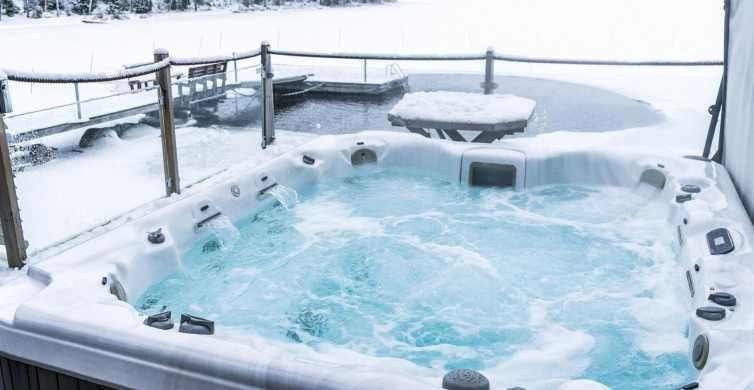 Depuis Rovaniemi: sauna, bain à remous et aurores boréales