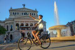Frankfurt: Passeio de Bicicleta de 3 Horas