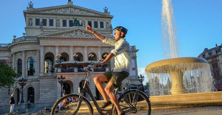 Frankfurt: 3-stündige Fahrradtour