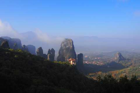 Two Day Train Journey from Thessaloniki to Meteora