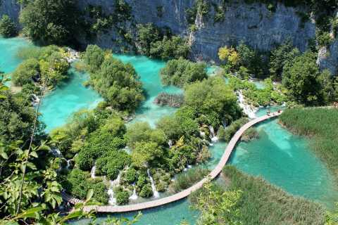 Full Day Private Tour of Plitvice Lakes from Split & Trogir
