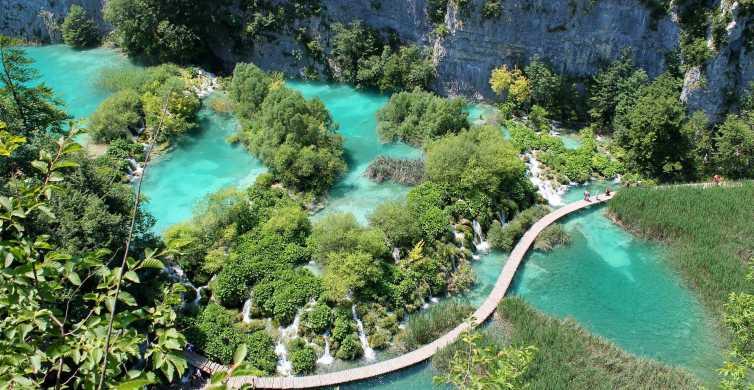 Full Day Private Tour of Plitvice Lakes from Split & Trogir