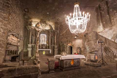 From Krakow: Wieliczka Salt Mine Tour with Private Transport