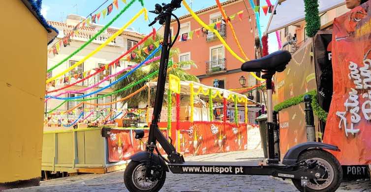 Lisbon: Alfama Tour by Electric Scooter