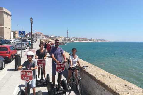 Cádiz: tour privado en segway en alemán
