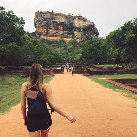 Sigiriya en Pidurangala-rots van Negombo