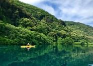 Ab Rom: Kajak-Tour und Schwimmen im See in Castel Gandolfo
