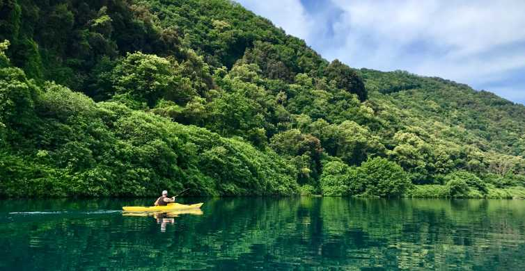 Rome: Castel Gandolfo Kayak en zwemmen Lake Tour