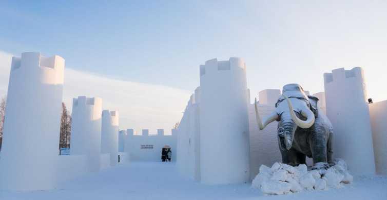 Rovaniemi: Viagem de 1 Dia ao Castelo de Neve de Kemi